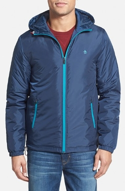 Original Penguin - Water Resistant Insulated Windbreaker Jacket