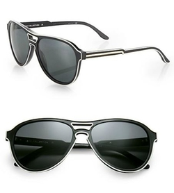 Stella McCartney - Piped Aviator Sunglasses