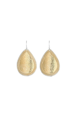 Anna Beck - Gold Teardrop Earrings