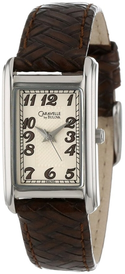 Caravelle By Bulova - Dial Leather Strap Watch
