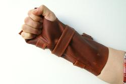 Xcoser - Batman Bane Wrist Guard Leather Brace