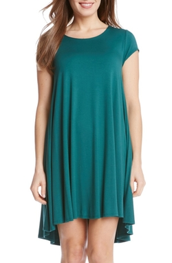 Karen Kane  - Maggie Cap Sleeve Trapeze Dress