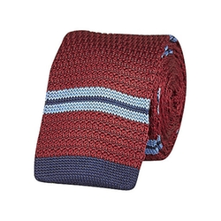 River Island - Stripe Knitted Tie