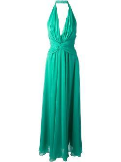 MSGM  - Halter-neck Gown