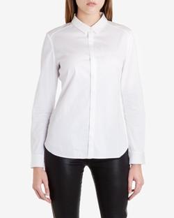 Hadija - Fitted Raglan Sleeve Shirt