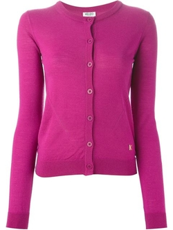 Kenzo - Round Neck Cardigan Sweater