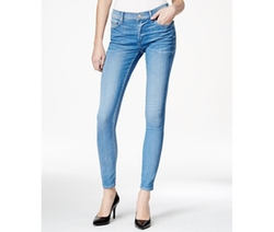 True Religion  - Halle Skinny Neptune Blue Wash Jeans