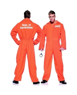 Under Wrap - Orange Prison Jumpsuit Costume