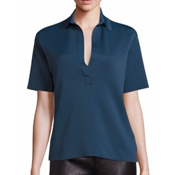 Helmut Lang - Sponge Polo Top