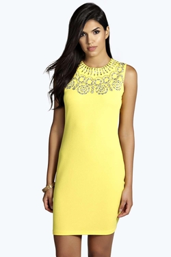 Boohoo - Embellished  Bodycon Dress