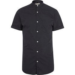 River Island - Short Sleeve Grandad Shirt