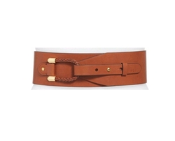 Lauren By Ralph Lauren - Braided Loop Wide Belt