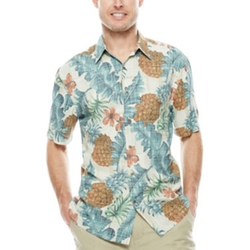 Island Shores - Rayon Printed Camp Shirt