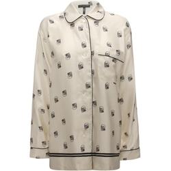 Alexander McQueen - Skull Silk Pajama Set