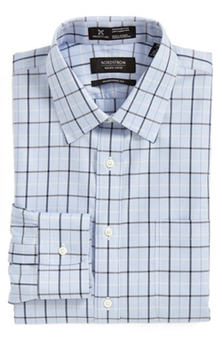 Nordstrom  - Traditional Fit Plaid Dress Shirt