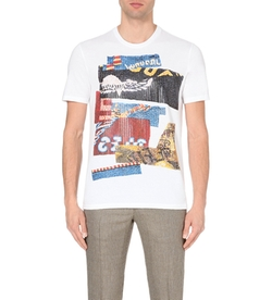 Maison Margiela - Sequin-Motif Cotton-Jersey T-Shirt