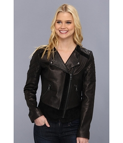 Sam Edelman - Leather/Suede Combo Jacket