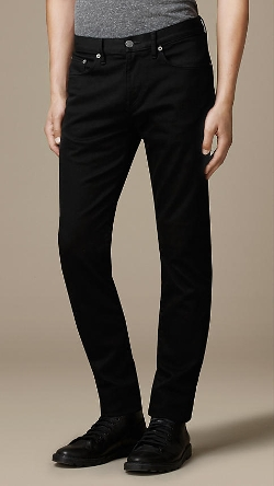 Burberry - Straight Fit Yarn Dyed Jeans