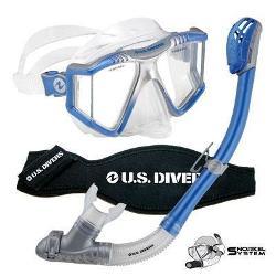 Aqua Lung America - Lux Mask Snorkel System Blue