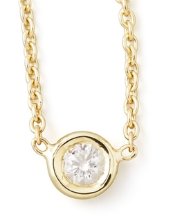 Roberto Coin - Single Diamond Necklace