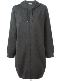 Brunello Cucinelli - Oversized Zipped Hoodie