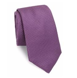 Ike Behar - Medallion Silk Tie