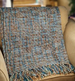 KSA - Fringed Woven Jacquard Throw Blanket