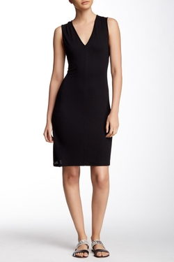 Lanston - Cutout Back Sheath Dress