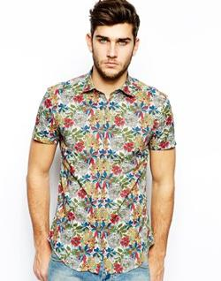 Antony Morato - Shirt With Floral Print
