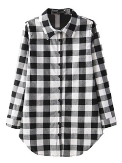 Persun - Long Sleeve Check Shirt