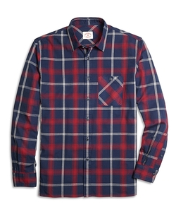 Brooks Brother - Homespun Plaid Sport Shirt