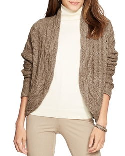 Lauren Ralph Lauren  - Cable Knit Cardigan
