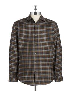 Black Brown 1826 - Checkered Sportshirt