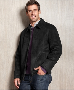 Perry Ellis - Faux-Shearling Coat