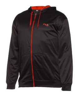 Fila  - Plaited Fleece Hoody Tall Jacket