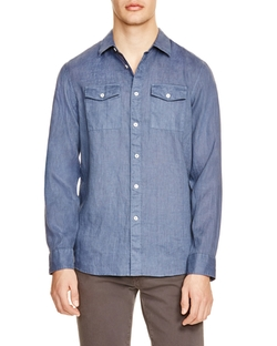 Michael Kors - Garment Dyed Button Down Shirt