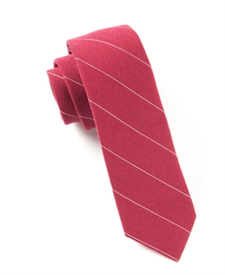 The Tie Bar - Wool Stripe Tie