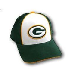 Reebok - Green Bay Packers White Front Baseball Cap