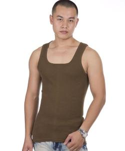 Promithi - Sexy Mens Slim Fitted Sleeveless Tank Tops Vest T-shirt Tee Undershirt