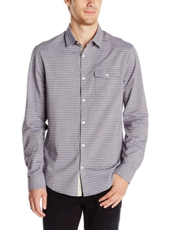 Original Penguin - Horizontal Slub-Stripe Shirt