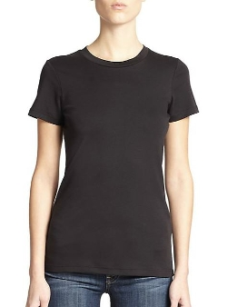 Theory  - Johnna Pima Cotton T-Shirt