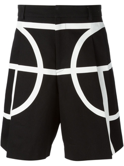Givenchy - Contour Print Shorts