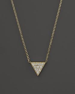 KC Designs - Triangle Pendant Necklace