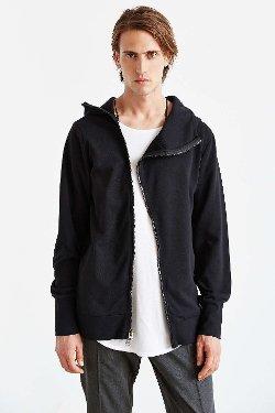 The Narrows  - High Neck Zip Hooded Sweatshirt