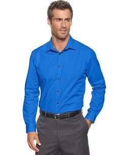 Alfani  - Stretch Long-Sleeve Shirt