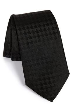 Armani Collezioni  - Houndstooth Silk Tie