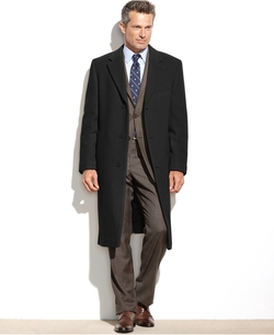 Lauren Ralph Lauren - Columbia Cashmere-Blend Overcoat