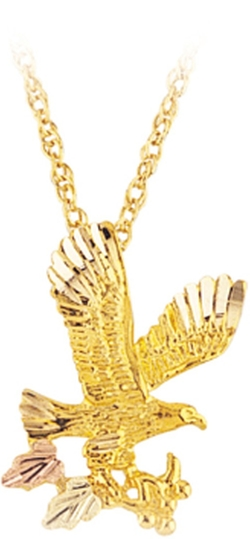 Black Hills Gold - Eagle Necklace