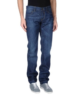 Dolce & Gabbana - Solid Color Denim Pants