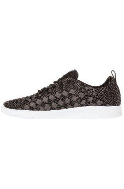 Vans  - The Tesella Sneaker In Serpentes Black & White